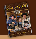 Cowboy Country TV Recipe Books for sale